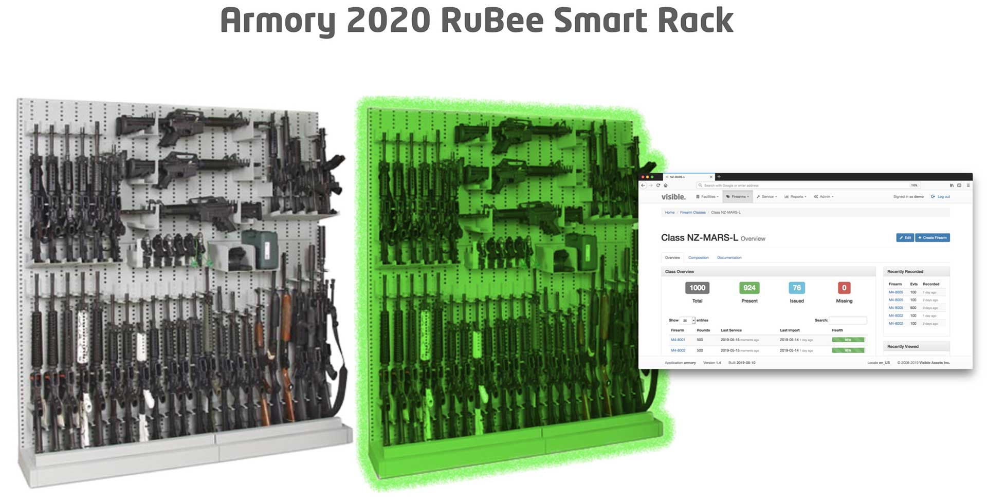 RuBee Smart Rack | ECLIPS Logistics